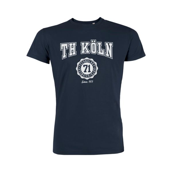 Herren Organic T-Shirt, navy, bellmont