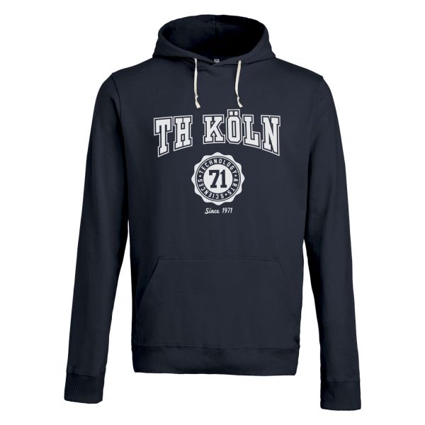 Classic Hooded Sweatshirt, navy, bellmont
