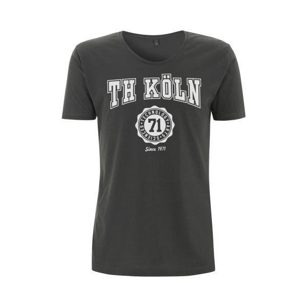 Herren Organic T-Shirt, charcoal, bellmont